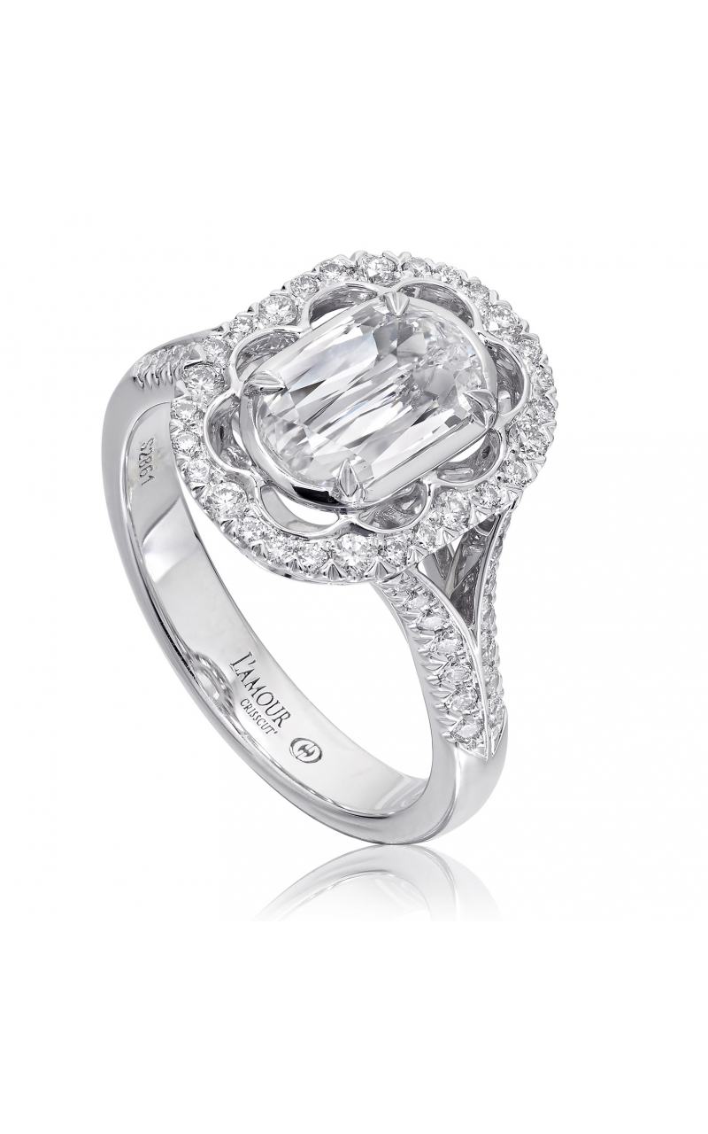 Christopher Designs Engagement ring L293-100 product image