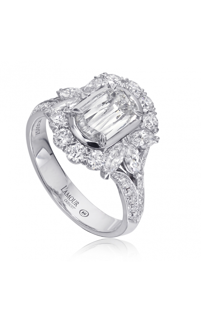 Christopher Designs Engagement ring L297-100 product image