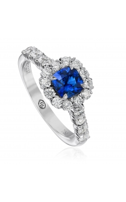 Christopher Designs Cushion Sapphire Ring G52-CU075-S product image