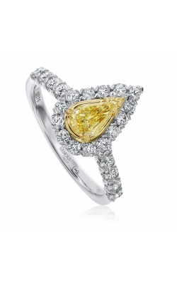 Christopher Designs Pear Shaped Ring L101-LPE040YD product image