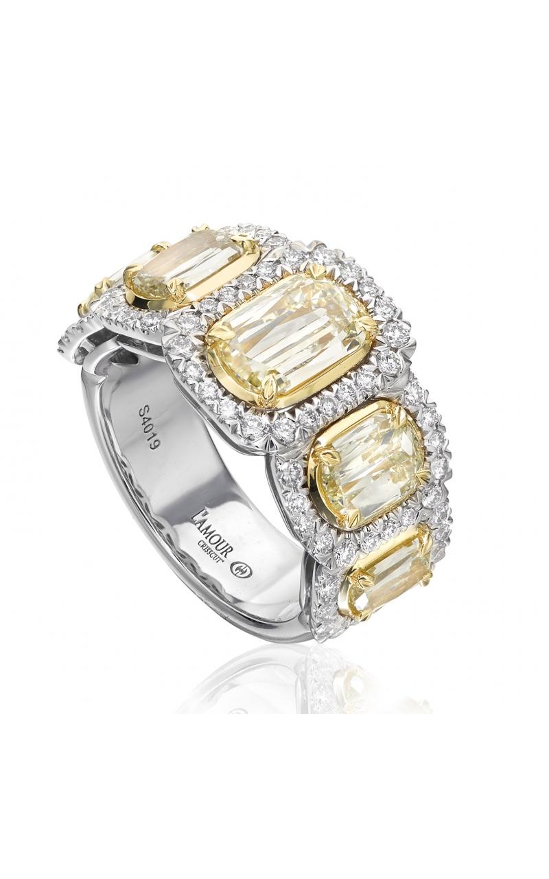 Christopher Designs Yellow Diamond Band L205G-5-250 product image