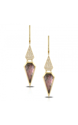 Black M.O.P. Spearhead Drop Earrings product image
