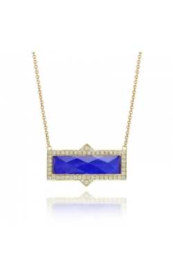 Royal Lapis Rectangle Pendant  product image