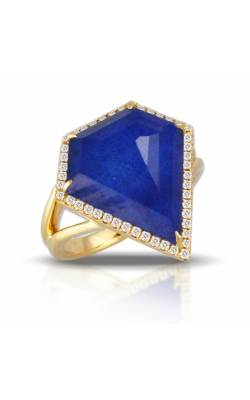 Royal Lapis Diamond Shaped Ring  product image