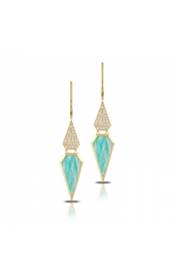 Amazonite Spearhead Earrings E8751AZ product image