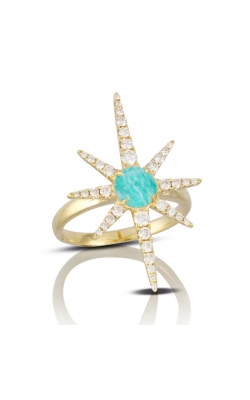 Amazonite Star Ring  product image