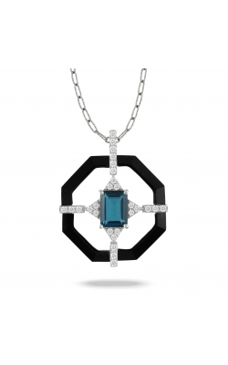 London Blue Octagonal Pendant P9448BOLBT product image