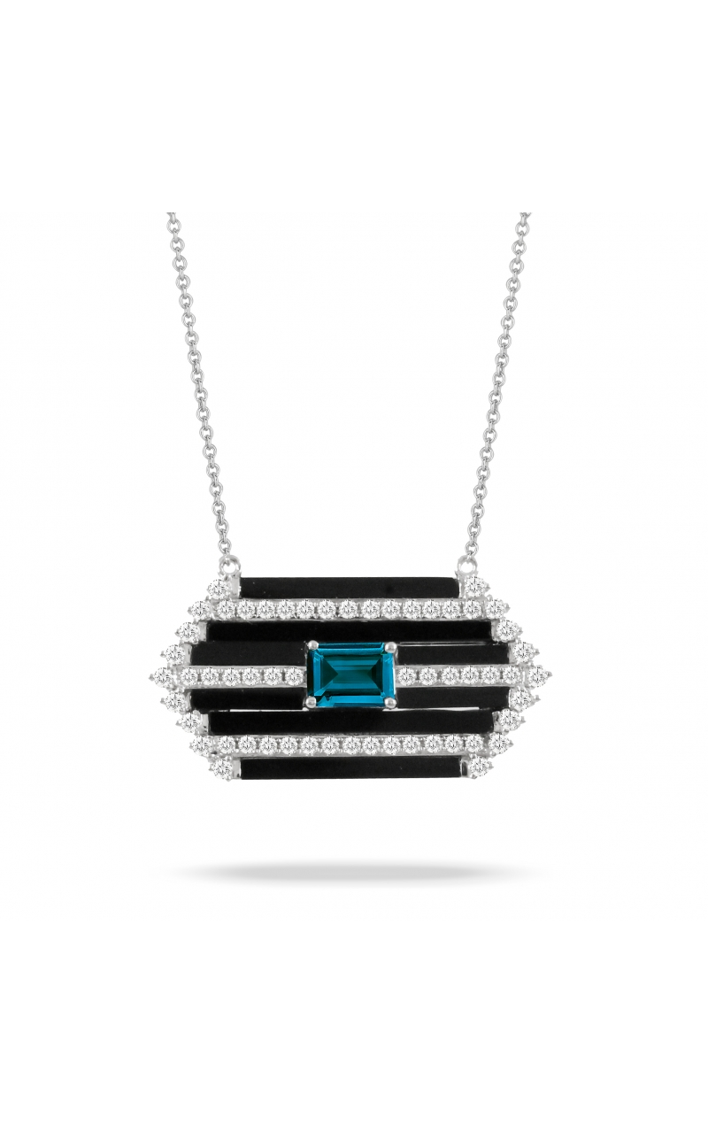 Doves London Blue Collection Necklace N9297BOLBT product image