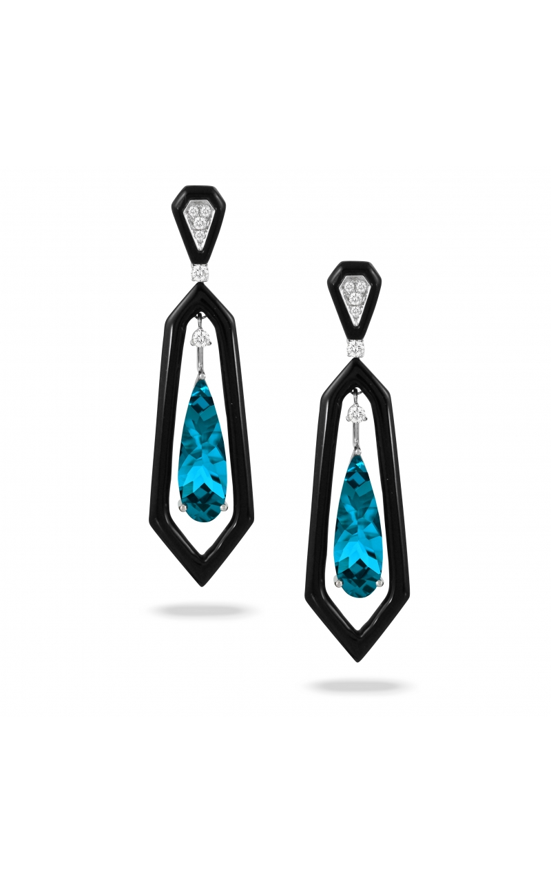 Doves London Blue Collection Earrings E9445BOLBT product image