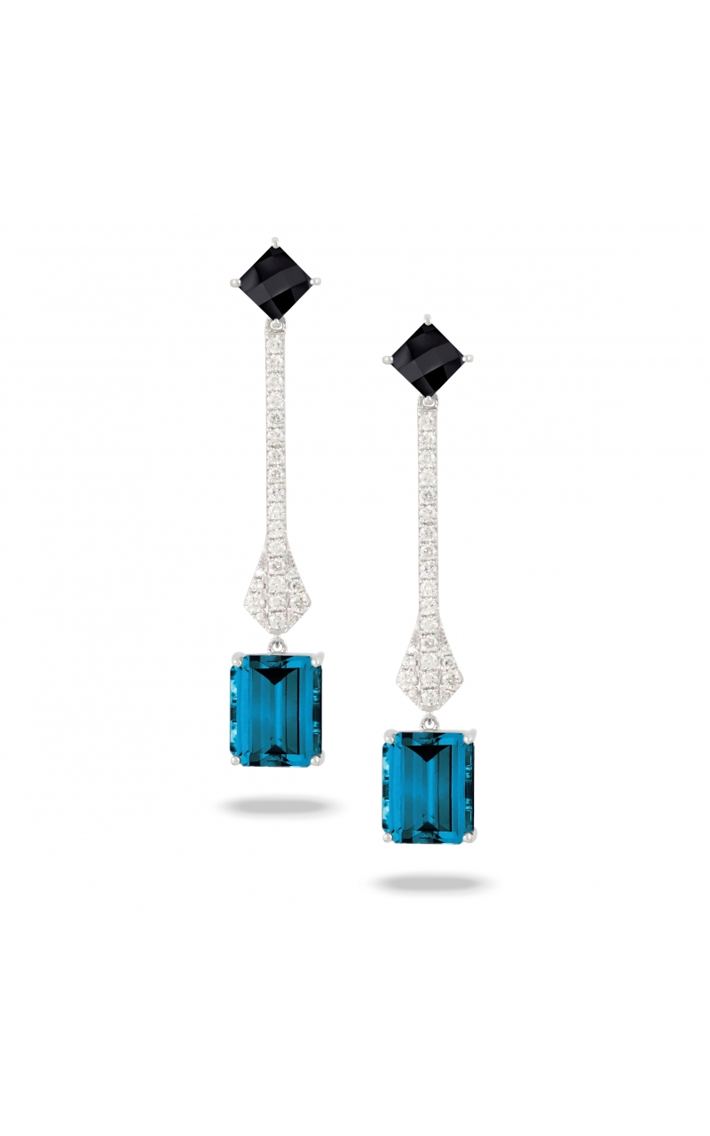 Doves London Blue Collection Earrings E9077BOLBT product image