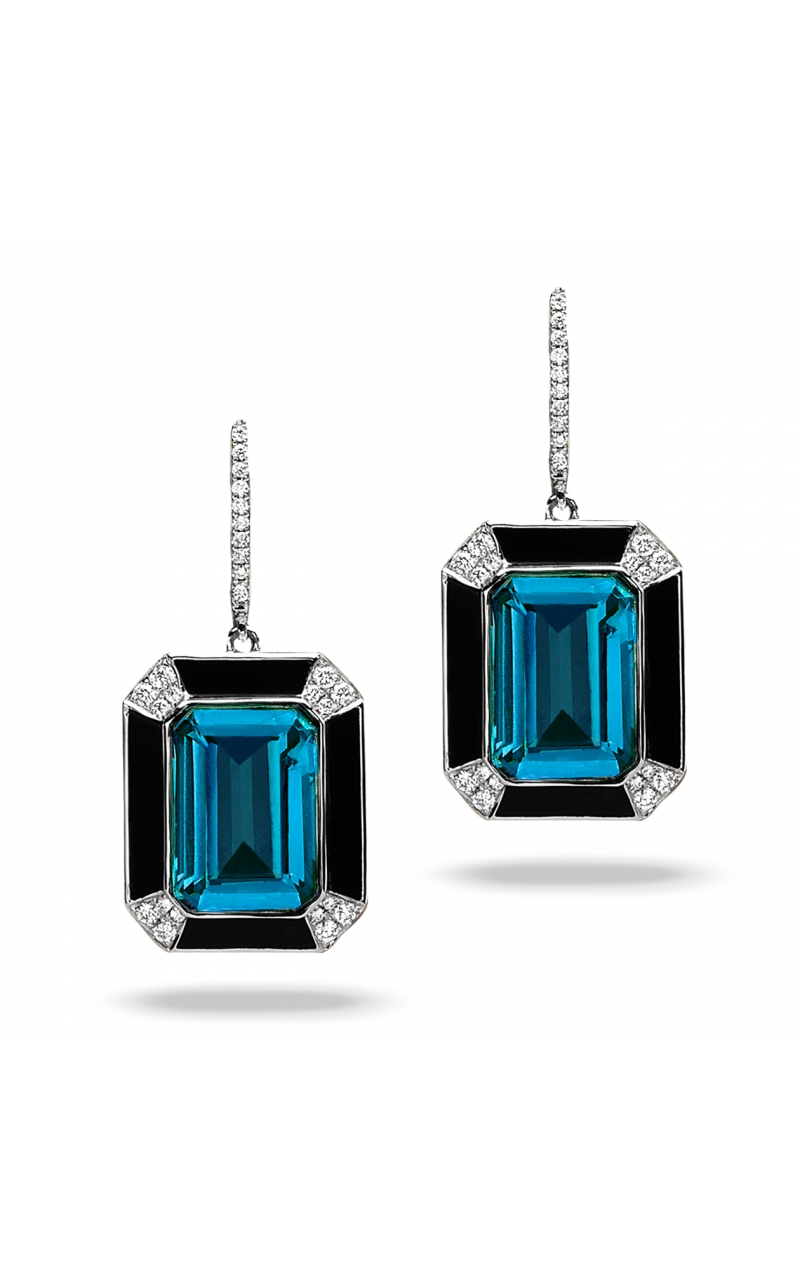 Doves London Blue Collection Earrings E8897BOLBT product image