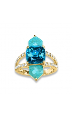Amazonite London Blue Topaz Ring R8720AZLB product image