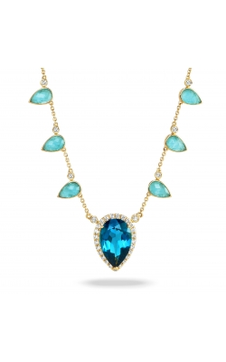 Amazonite And London Blue Pendant N8669AZLBT product image