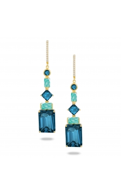 Amazonite And London Blue Earrings E8782AZLBT product image