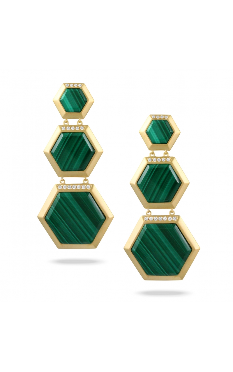 Doves Verde Collection Earrings E9439MC product image