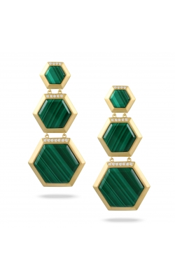 Malachite Earrings E9439MC product image