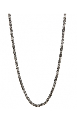 Thick Silver Chain Necklace STC-27729 product image