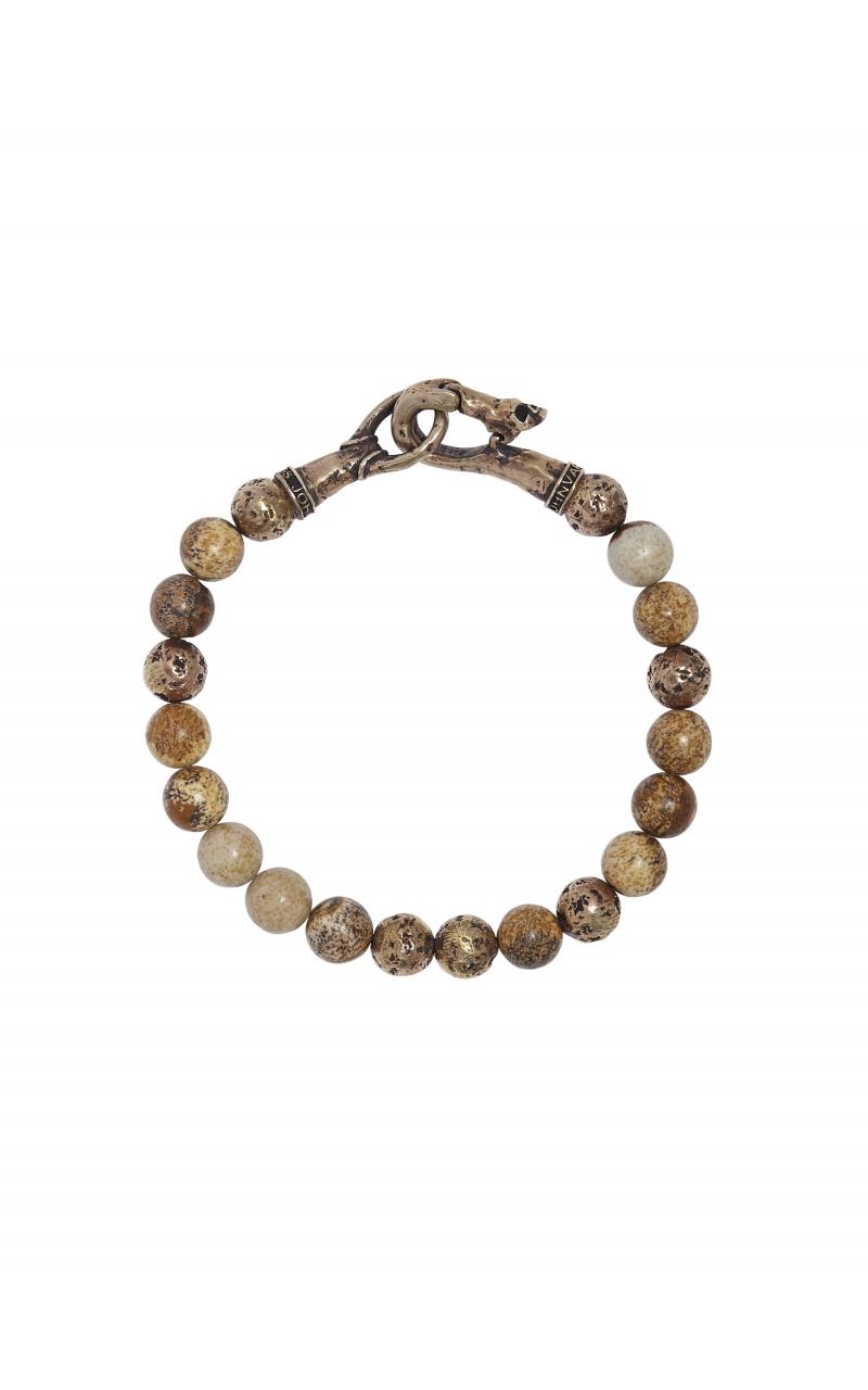 Jasper Bead Brass Bracelet product image