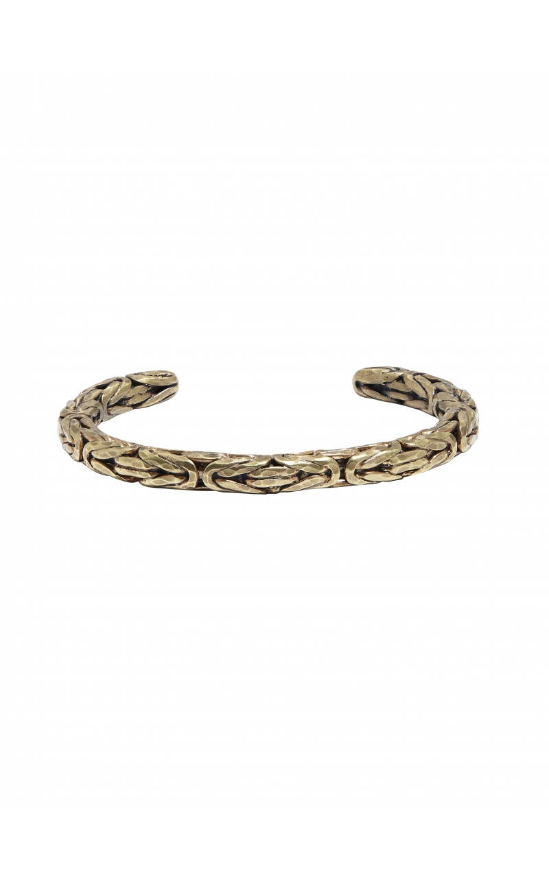 Brass Braided Cuff product image
