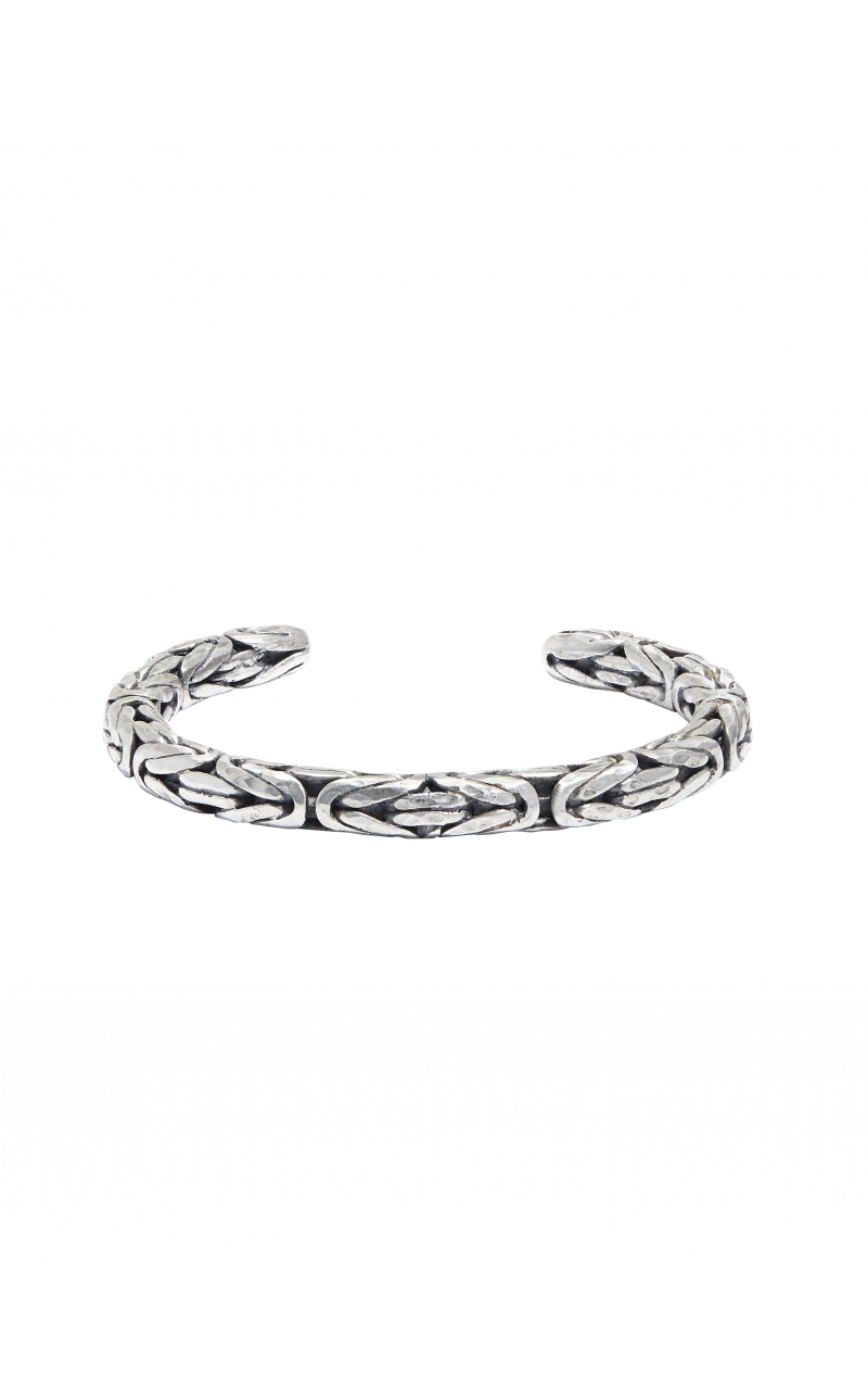 Silver Braided Cuff product image