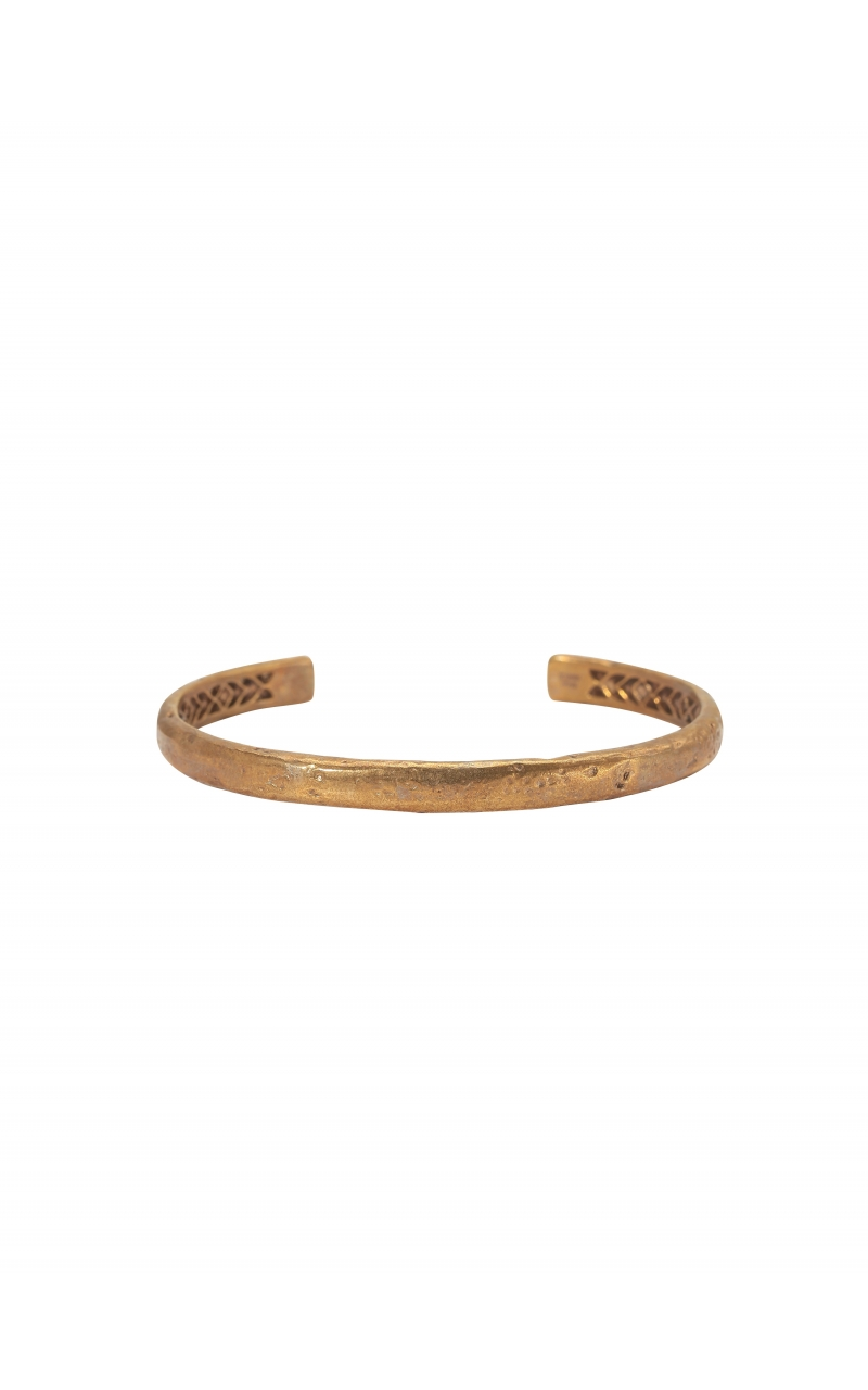 Plain Brass Distressed Cuff product image