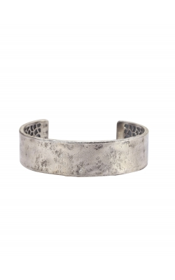 Wide Distressed Silver Cuff product image