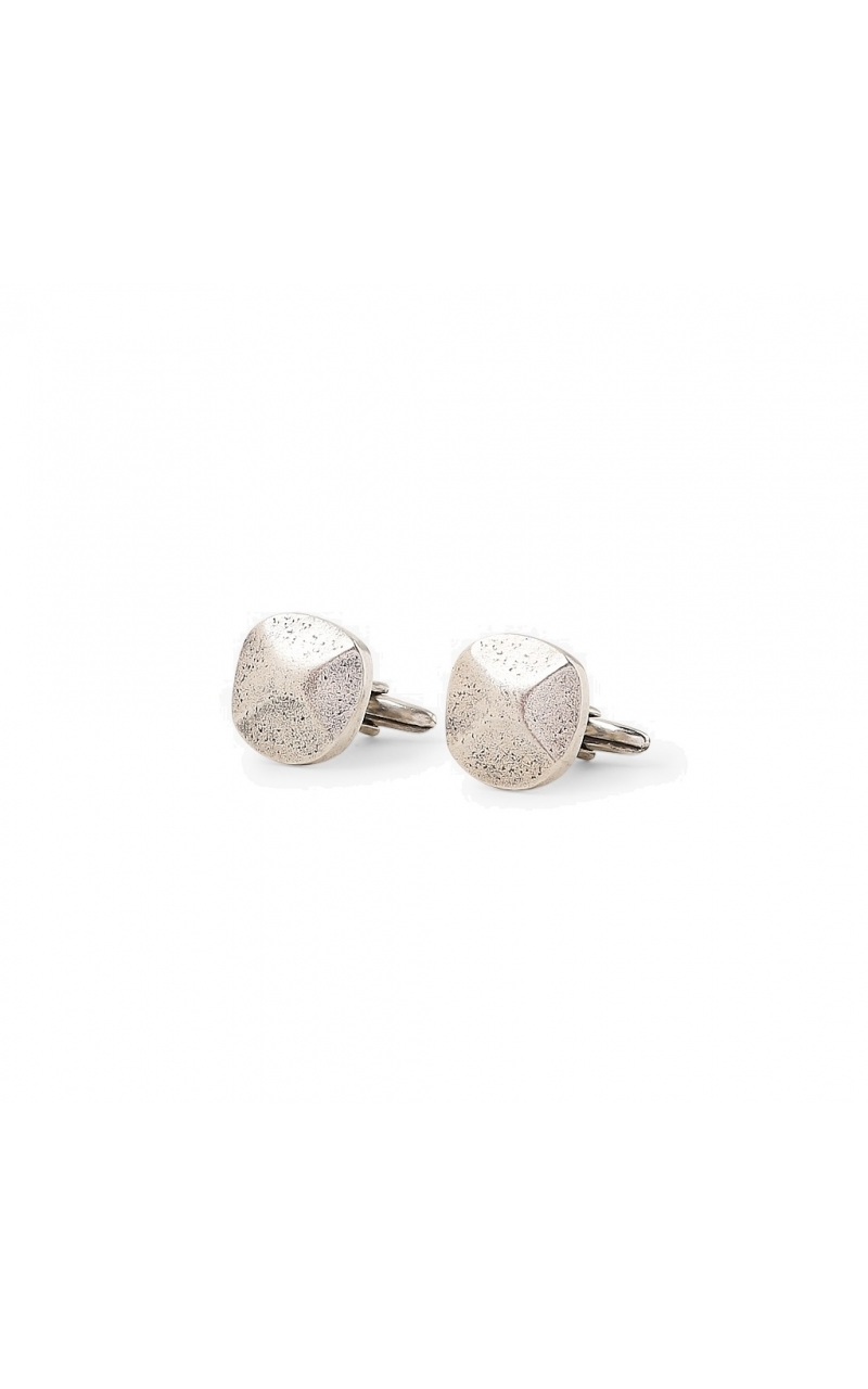 Rivet Cuff links in Silver product image