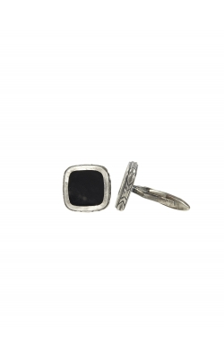 Silver Onyx Cuff Links product image