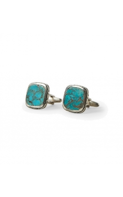 Silver Turquoise Cuff Links product image