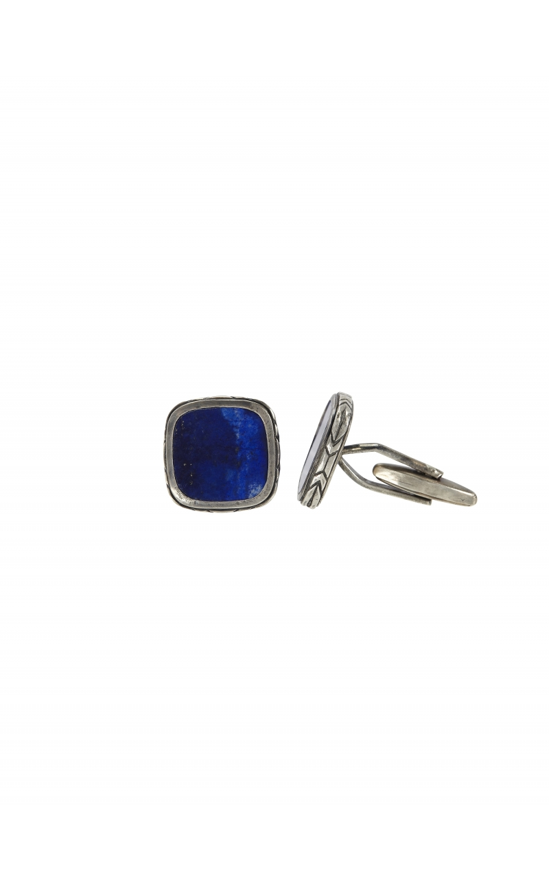 Silver Lapis Cuff Links product image