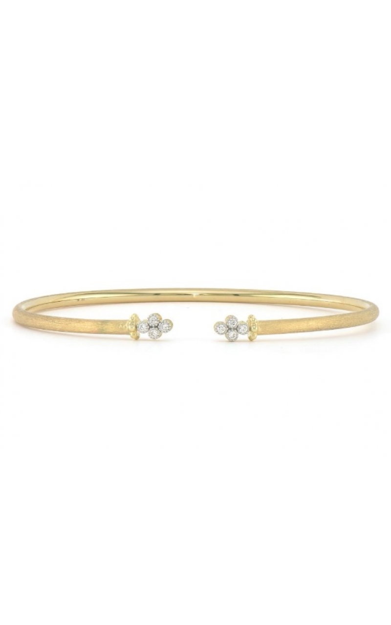 OPEN DIAMOND QUAD FLEXIBLE BANGLE B08S19-WDCB-6.5-Y product image