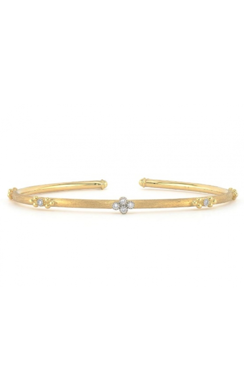 QUAD AND TRIO FLEXIBLE BRUSHED BANGLE B09S19-WDCB-6.5-Y product image