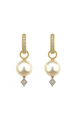 LARGE LISSE PEARL EARRING CHARMS C56F15-WP-WDCB-Y product image