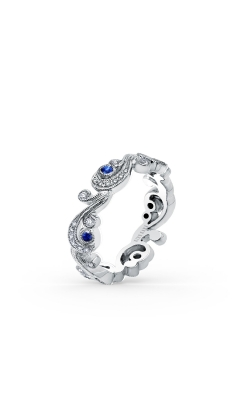 Angelique Wedding Band SS6967S-BS product image