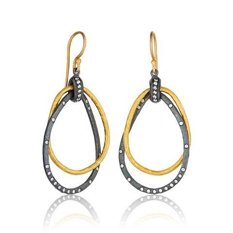 Lika Behar Kelly Double Pear Earrings product image