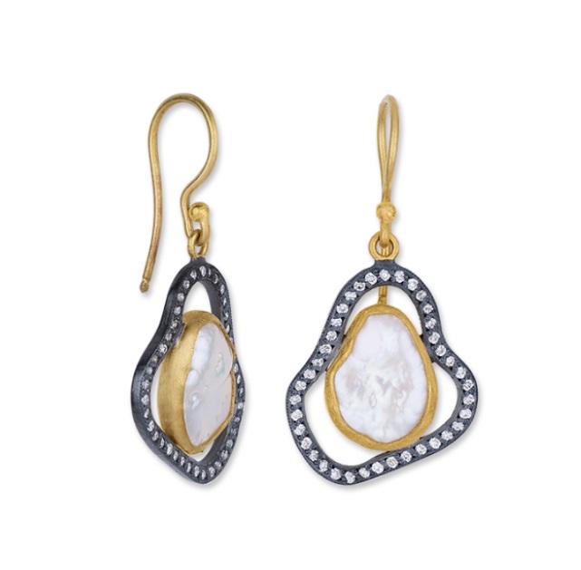 Lika Behar Pearlita Dangle Earrings product image