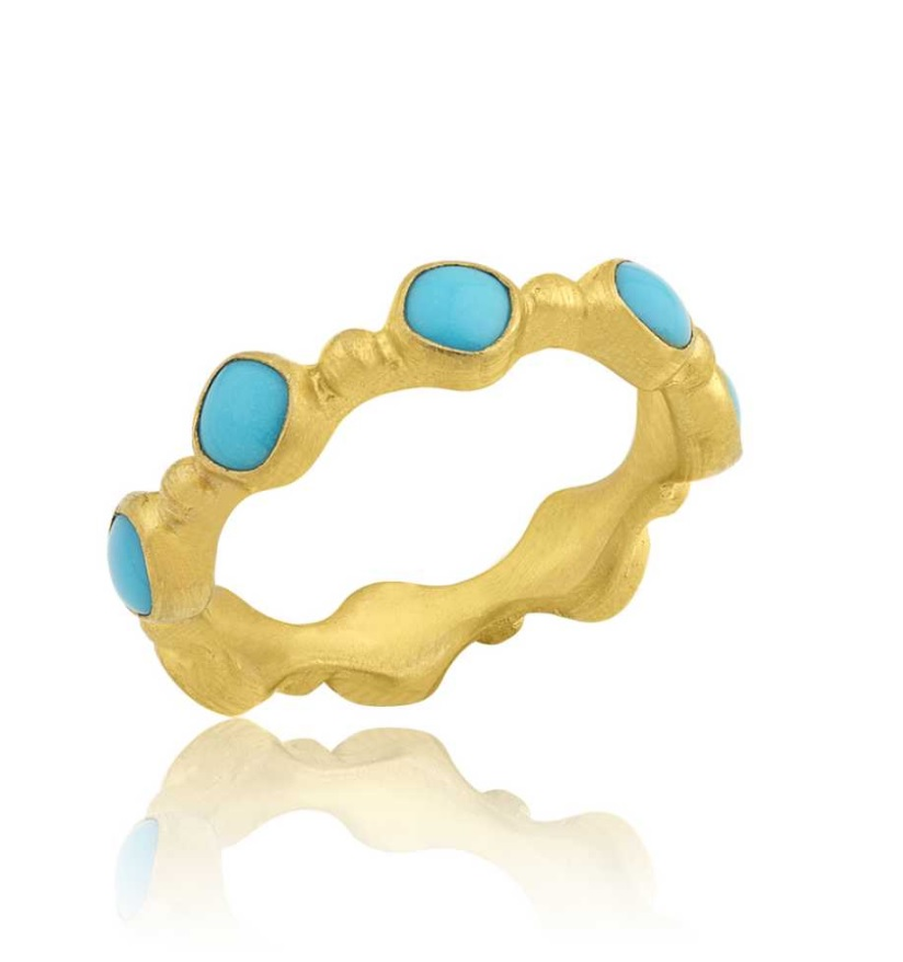 Lika Behar Turquoise Love Stackable Ring product image