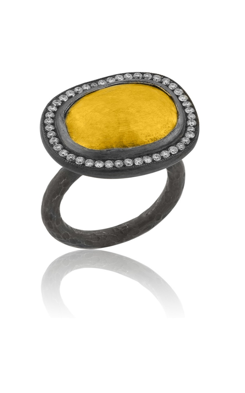 Lika Behar Hammered Gold Reflections Ring product image