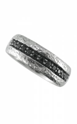 Morgans Men Black Diamond Ring AGD-20954 product image