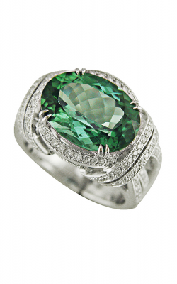 Morgans Indicolite Tourmaline Ring ALC-15170 product image