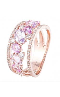 Morgans Pink Sapphire Ring ALC-27864 product image