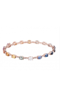 Morgans Rainbow Gemstone Bangle ABC-27868 product image