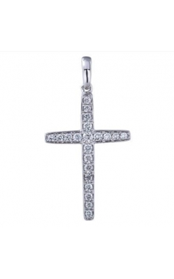 Morgans Diamond Cross Pendant ARJ-27878 product image