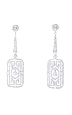 Morgans Deco Rectangle Earrings AED-27882 product image