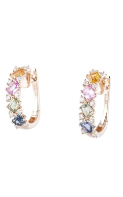 Morgans Rainbow Sapphire Earrings AEC-27886 product image