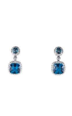 Morgans London Blue Topaz Earrings AEC-27883 product image