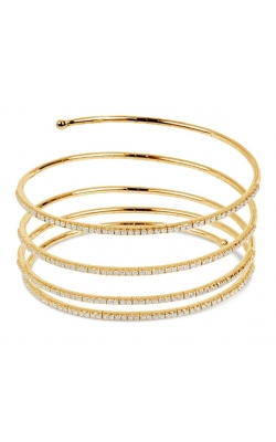 Morgan's Coiled Pave Bangle HBB107 product image