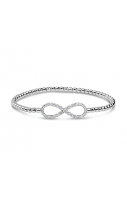 Morgan's Beaded Diamond Infinity Bangle HBB0842 product image