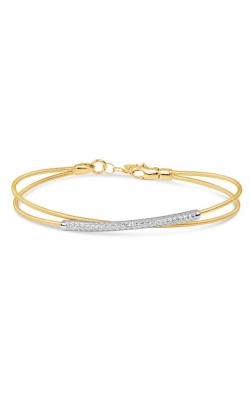 Morgan's Diamond Bypass Bangle HBB093-006 product image