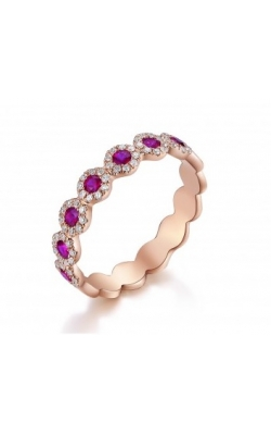 Morgan's Stackable Ruby Band ALC-28649 product image